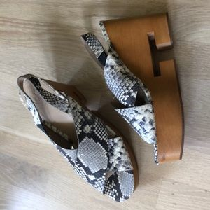 Tory Burch infinity wedges